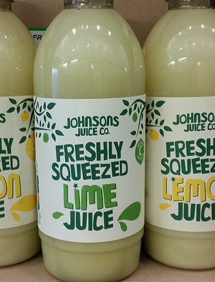 Fresh Lemon and Lime Juices
